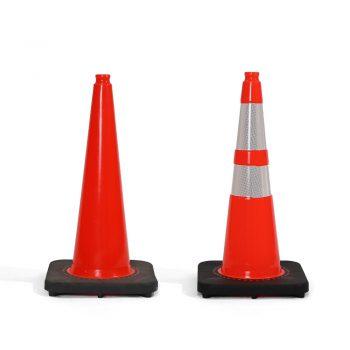 28-Inch Orange Cones
