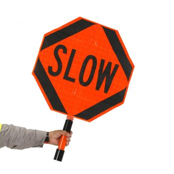Hand-Held Slow Sign